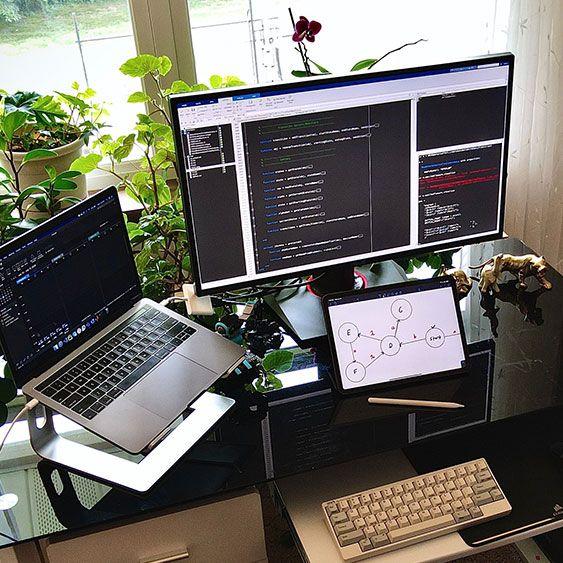 Cody Richter's desk