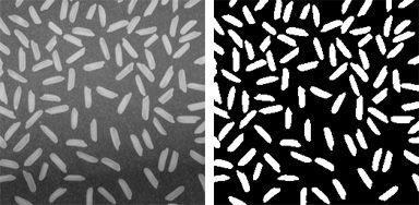 Correcting nonuniform illumination with morphological operators