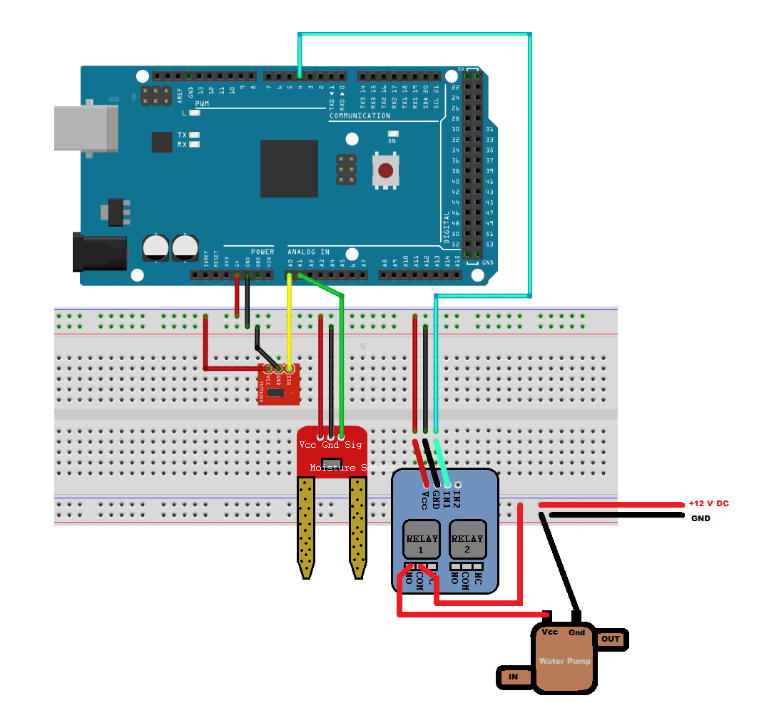 Arduino Based Smart Watering Of Plants Matlab Simulink Example Arduinocircuitsimulator Simulator Top 5 Best Online Task 2 Create A Model To Implement System