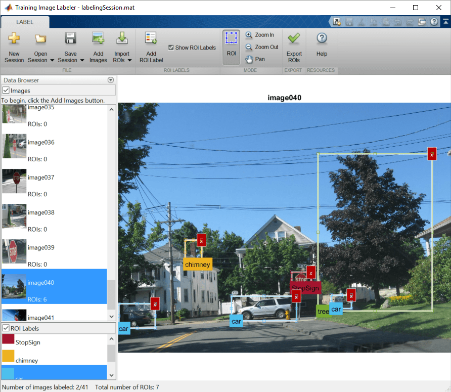 Label images for training a classifier - MATLAB - MathWorks United
