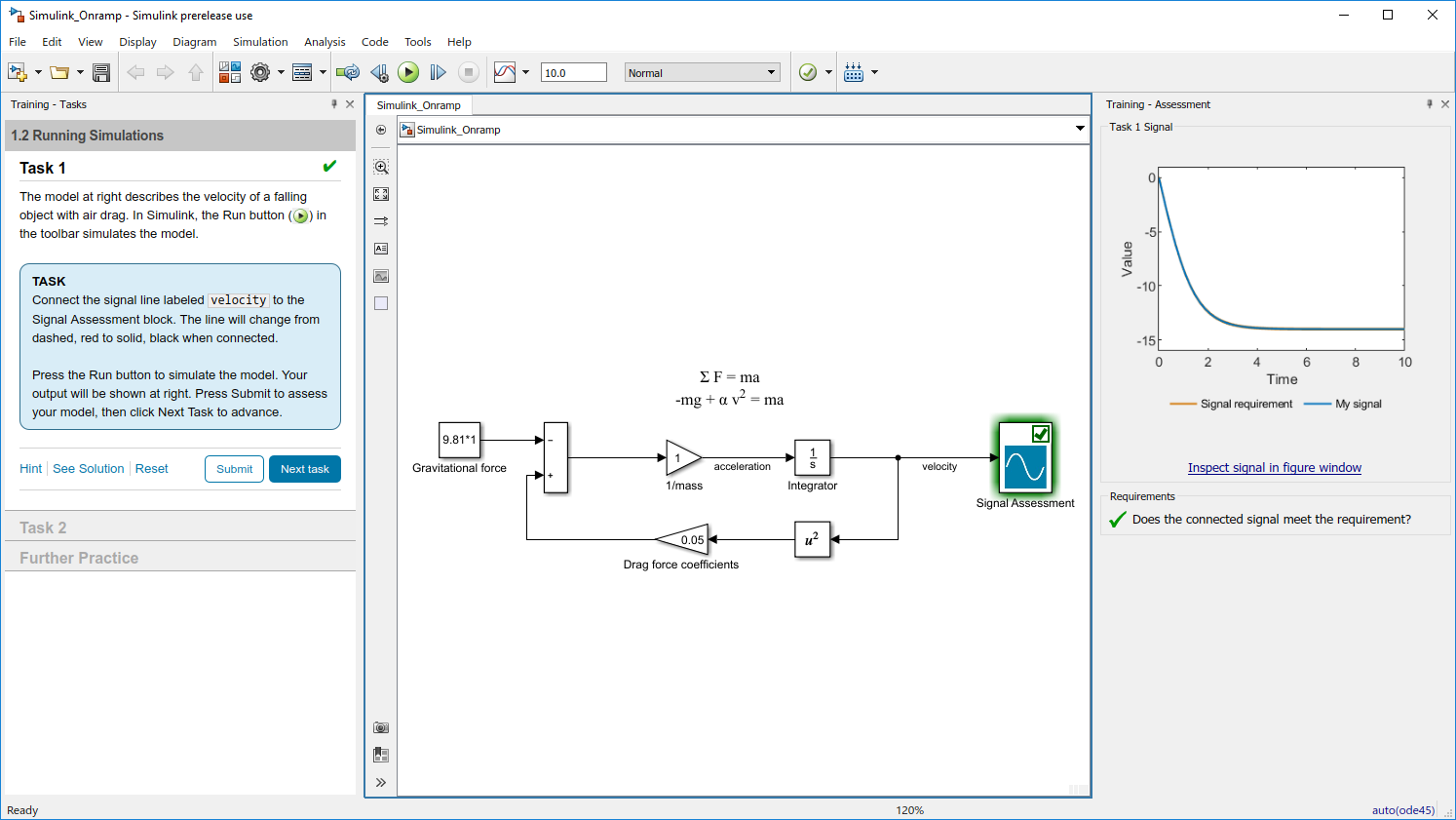 Simulink Onramp - File Exchange - MATLAB Central
