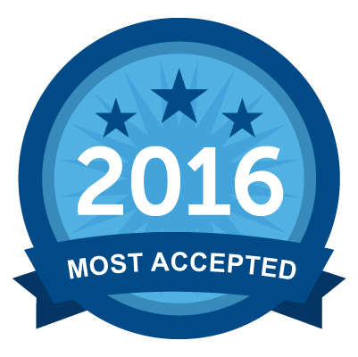 Most Accepted 2016