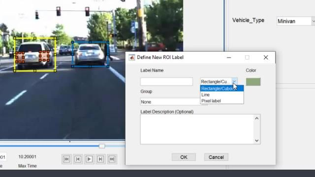 Perform data labeling for camera and lidar sensor data using the Ground Truth Labeler in MATLAB. Automate labeling with built-in algorithms.