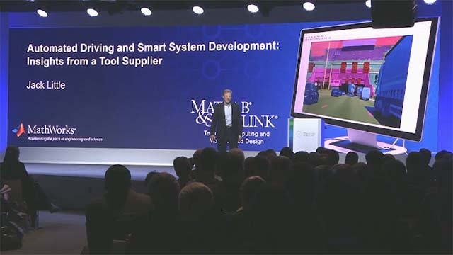 Hear Jack Little, president and co-founder of MathWorks, speak at Bosch Connected World 2018 about tools and processes for developing high-reliability automotive systems with greater autonomy.