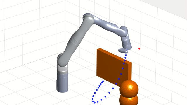 Design, simulate, and test robotics applications.