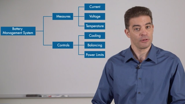 Learn about battery management system tasks. See how Simulink can model a physical plant and the controller for a battery pack. Identify how a nonlinear observer block from the controls library can keep track of the state of charge of a cell.