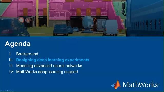 See how MATLAB deep learning apps can help you edit neural networks and devise and run experiments