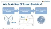 In this webinar, you will learn how to design and simulate a wireless transceiver using MATLAB and Simulink products. Several aspects of modeling and simulating wireless communications systems are covered