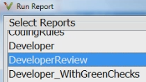 Document your Polyspace results using Polyspace Bug Finder and Polyspace Code Prover report generation capabilities. Default templates help standardize your workflow, while the web dashboard helps monitor overall code quality.