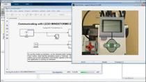Webinar which shows how to easily and quickly program a LEGO MINDSTORMS EV3 using Simulink. Demo shows how to download and use LEGO MINDSTORMS EV3 Simulink blocks to control a line following robot by running a model natively.
