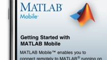 Set up your computer to be remotely accessed by the MATLAB Mobile app.