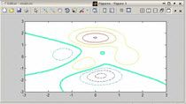 The contour plot will choose the colors of the contour lines based on the level of the contour. However, if you want to do something more, like change the line width or line style, you will need to do something like what follows in the video.