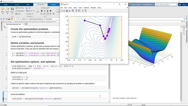 Solve linear, quadratic, conic, integer, and nonlinear optimization problems using Optimization Toolbox